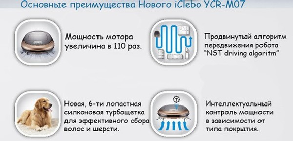 преимущества iCLEBO Omega