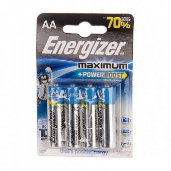 Элемент питания Energizer Maximum+Power Boost АА BL4