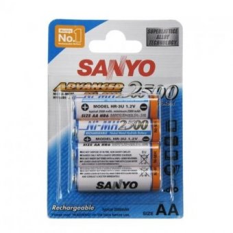 Аккумуляторы SANYO HR-3U-4BP 2500mAh, АА, 4 шт.