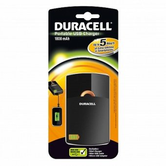 Аккумулятор DURACELL Portable USB Charger 1800mAh