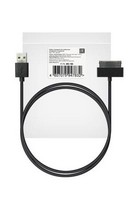 Кабель ROBITON P4 iphone4/1m/Charge&Sync USB A - Apple iPhone 4, 1м черный