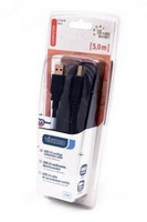Кабель VIVANCO CC U6 50 45212 USB2,0 А - USB В 5м черный