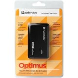 Картридер Defender Ultra Optimus USB 2.0, 5 слотов