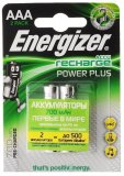 Аккумуляторы Energizer Recharge Power Plus AAA 700мАч BL2