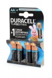Батарейки Duracell Turbo AA 4 шт, арт. 1696