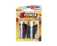 ANSMANN X-POWER 5015633 LR20, 2 шт.